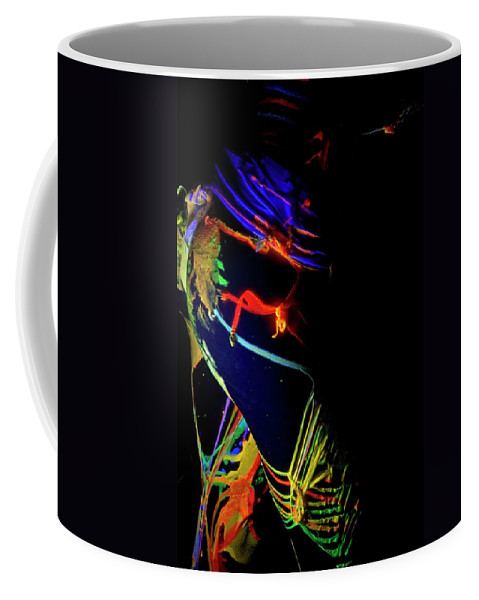 Nude Coffee Mug featuring the photograph Liquid Latex by Pavel Jelinek