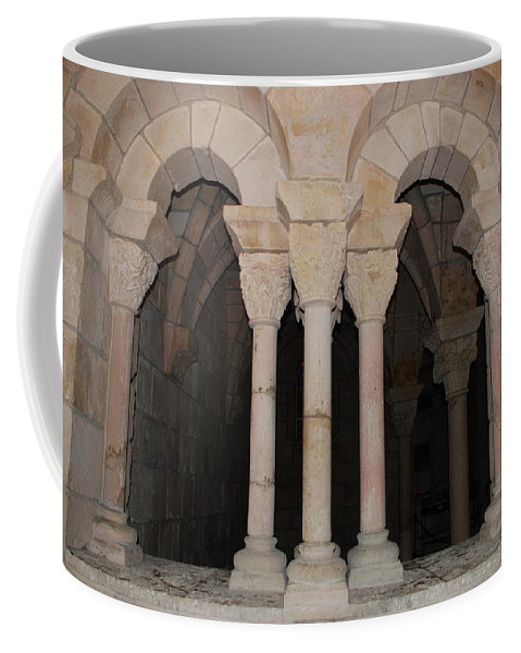 Arches Coffee Mug featuring the photograph Miami Monastery by Rob Hans