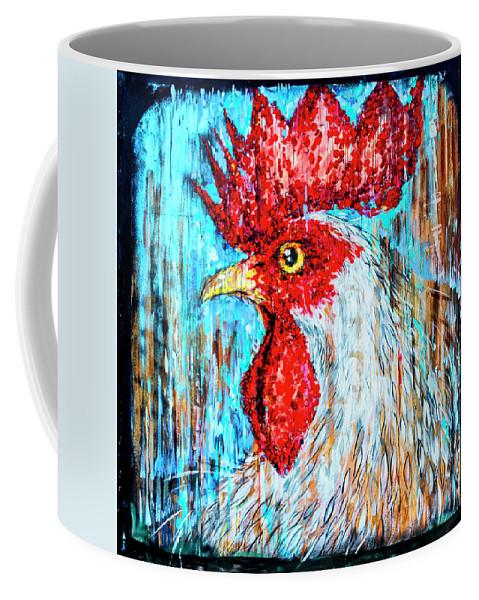 Florida Coffee Mug featuring the photograph 8288- Little Havana Mural by David Lange