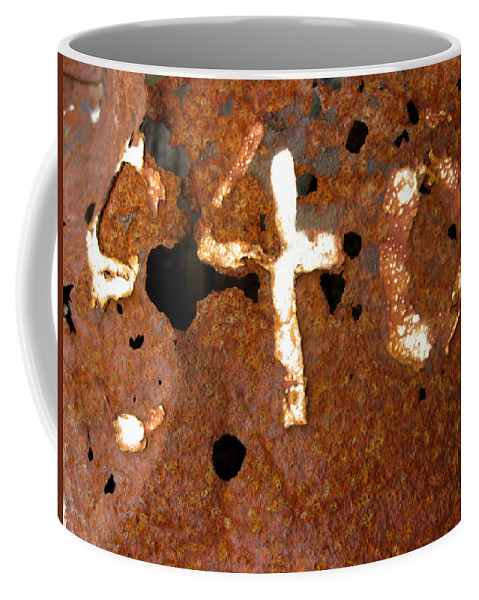 Rust Coffee Mug featuring the photograph 840 by Elaine Booth-Kallweit