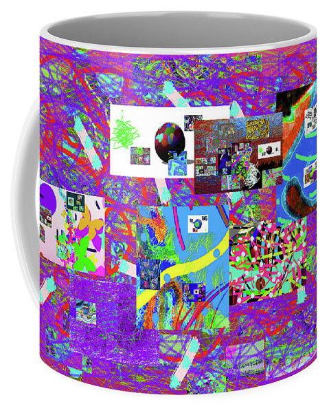 Walter Paul Bebirian Coffee Mug featuring the digital art 9-12-2015babcdefg by Walter Paul Bebirian