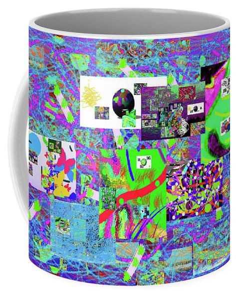 Walter Paul Bebirian Coffee Mug featuring the digital art 9-12-2015babcdefghijklm by Walter Paul Bebirian