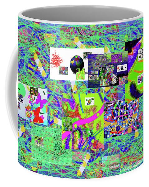 Walter Paul Bebirian Coffee Mug featuring the digital art 9-12-2015babcdefghijklmnopqr by Walter Paul Bebirian