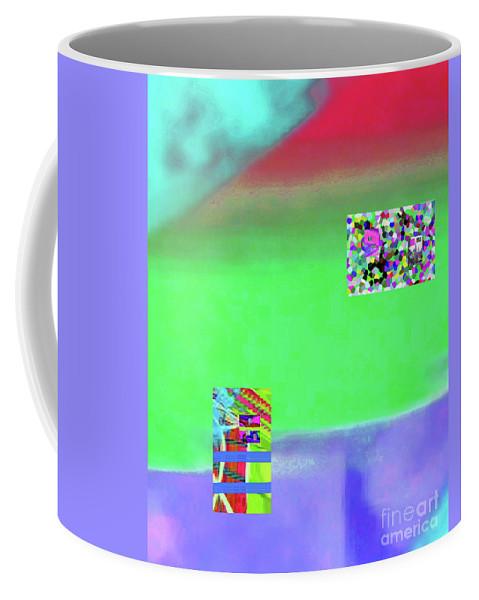 Walter Paul Bebirian Coffee Mug featuring the digital art 9-17-2015gabcdefghijklmnopqrtuvwxyzabcdefghijklm by Walter Paul Bebirian