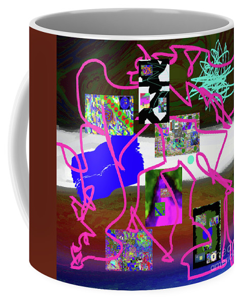 Walter Paul Bebirian Coffee Mug featuring the digital art 9-18-2015babcdefg by Walter Paul Bebirian