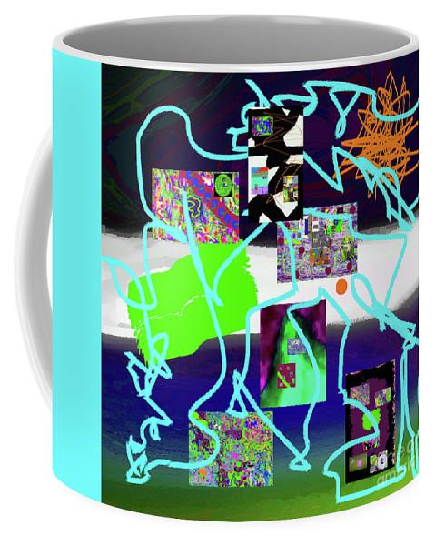 Walter Paul Bebirian Coffee Mug featuring the digital art 9-18-2015babcdefghijklmnopqrtuv by Walter Paul Bebirian
