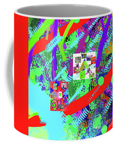 Walter Paul Bebirian Coffee Mug featuring the digital art 9-18-2015eabcdefghijklmnopq by Walter Paul Bebirian