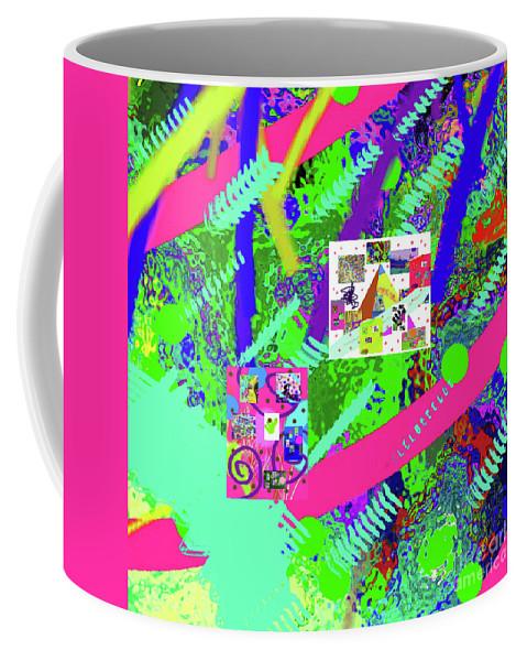 Walter Paul Bebirian Coffee Mug featuring the digital art 9-18-2015eabcdefghijklmnopqrtu by Walter Paul Bebirian