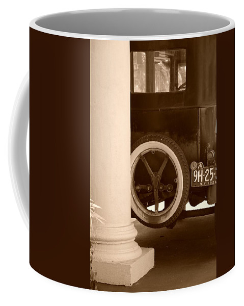 Sepia Coffee Mug featuring the photograph 1926 Model T Ford by Rob Hans