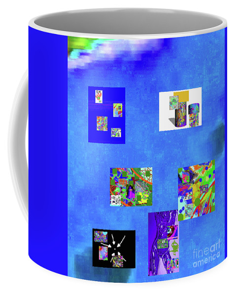 Walter Paul Bebirian Coffee Mug featuring the digital art 9-6-2015hab by Walter Paul Bebirian