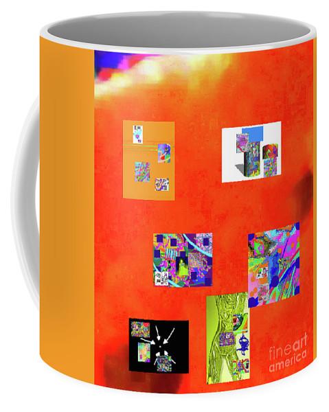 Walter Paul Bebirian Coffee Mug featuring the digital art 9-6-2015habcdefghijklmnopqrtuvw by Walter Paul Bebirian