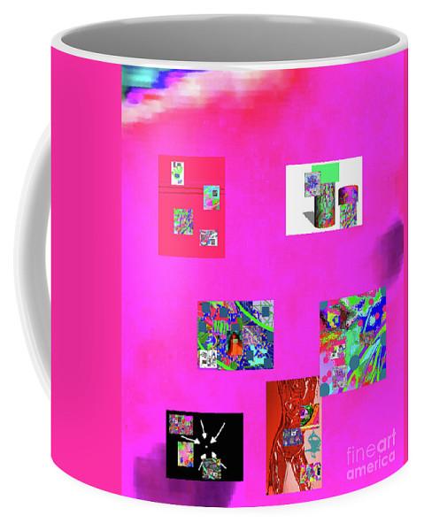 Walter Paul Bebirian Coffee Mug featuring the digital art 9-6-2015habcdefghijklmnopqrtuvwxyzabc by Walter Paul Bebirian