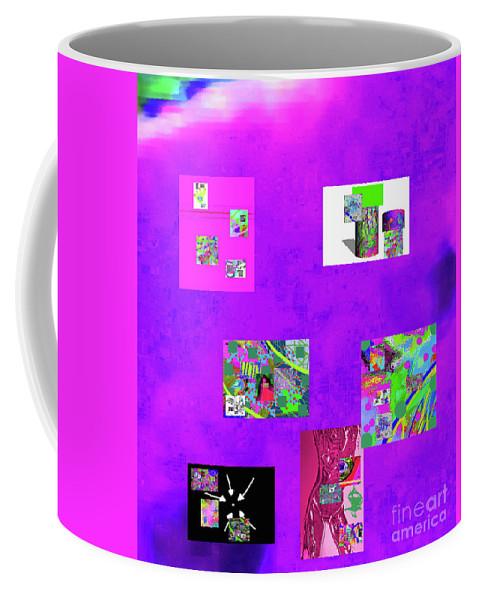 Walter Paul Bebirian Coffee Mug featuring the digital art 9-6-2015habcdefghijklmnopqrtuvwxyzabcdefg by Walter Paul Bebirian