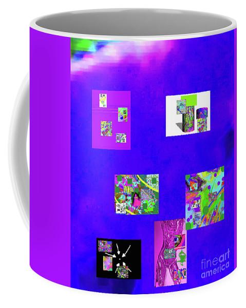 Walter Paul Bebirian Coffee Mug featuring the digital art 9-6-2015habcdefghijklmnopqrtuvwxyzabcdefghi by Walter Paul Bebirian