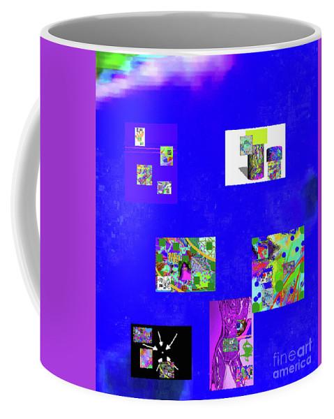 Walter Paul Bebirian Coffee Mug featuring the digital art 9-6-2015habcdefghijklmnopqrtuvwxyzabcdefghijk by Walter Paul Bebirian