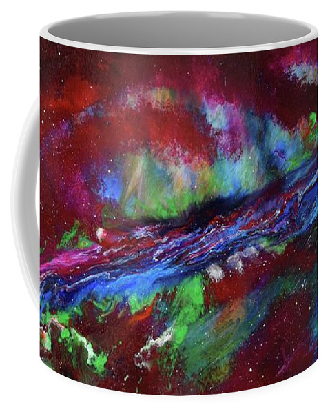 Movement Coffee Mug featuring the painting 9 by Alex Narva