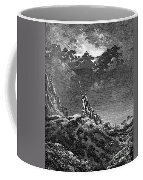 19th Century Coffee Mug featuring the photograph Don Quixote by Granger