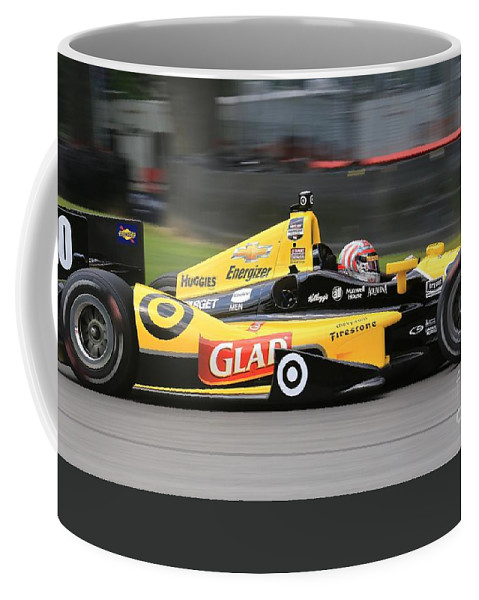 Indycar Coffee Mug featuring the photograph Indycar Performance by Douglas Sacha
