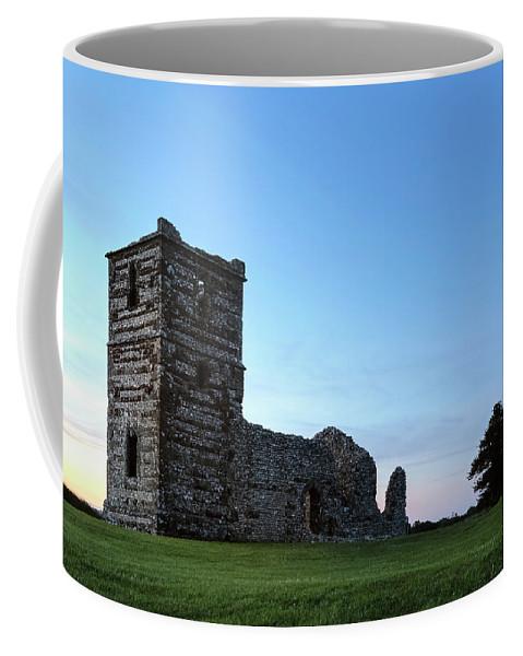 Knowlton Church Coffee Mug featuring the photograph Knowlton Church - England by Joana Kruse