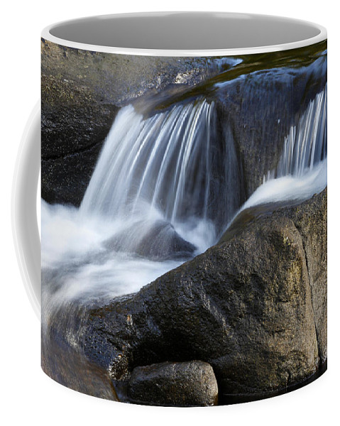 Beautiful Coffee Mug featuring the photograph Water Flowing by Les Cunliffe