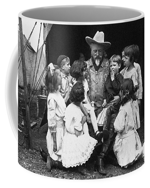1913 Coffee Mug featuring the photograph William F. Cody (1846-1917) by Granger