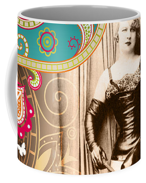 Nostalgic Seduction Coffee Mug featuring the photograph Goddess by Chris Andruskiewicz
