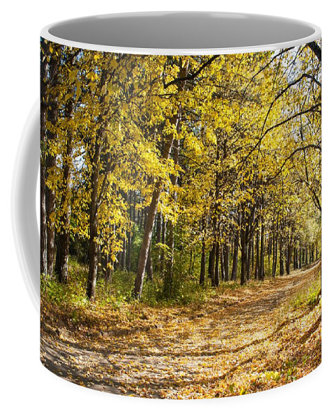 Non_city Coffee Mug featuring the photograph Nature by FL collection