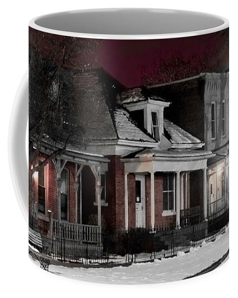 9th Coffee Mug featuring the photograph 9th St. Auraria by Jeffery Ball