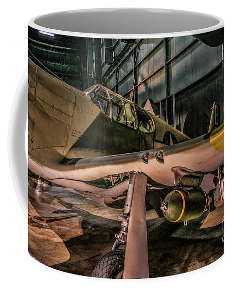 Usaf Museum Coffee Mug featuring the photograph A-36a Apache by Tommy Anderson