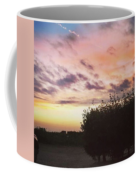 Norfolklife Coffee Mug featuring the photograph A Beautiful Morning Sky At 06:30 This by John Edwards