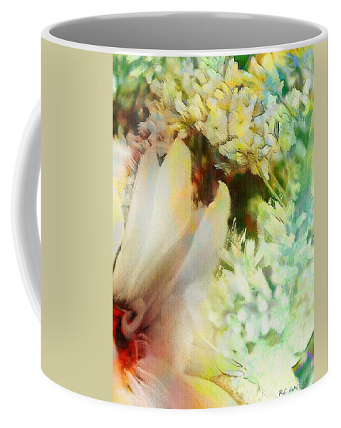 Baby's Breath Coffee Mug featuring the painting A Breath Of Spring by RC DeWinter