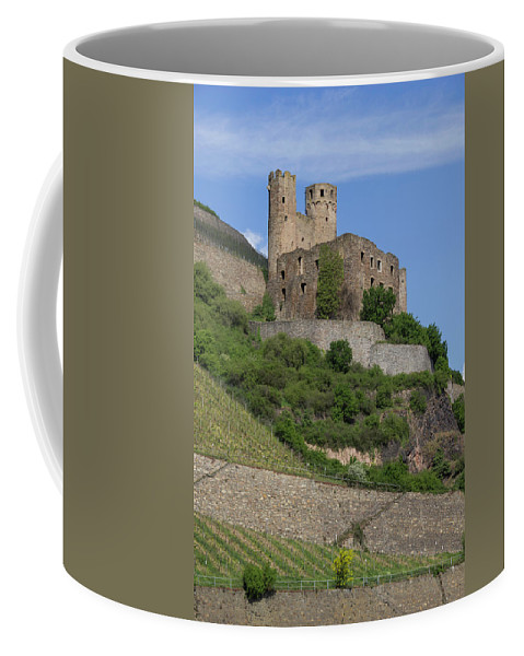 Ehrenfels Castle Coffee Mug featuring the photograph A Castle Among The Vineyards by Teresa Mucha