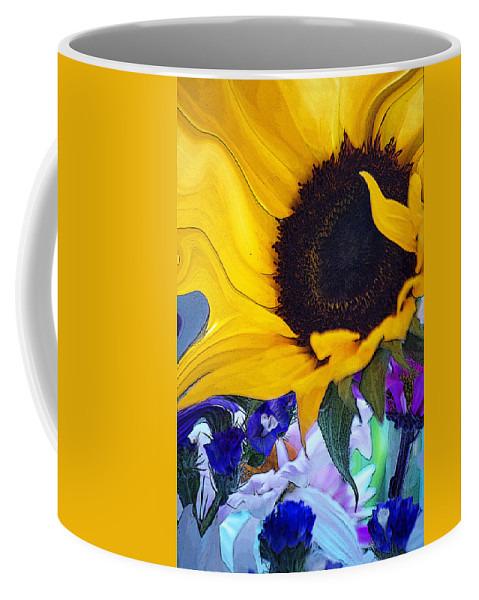 Flowers Coffee Mug featuring the photograph A Childs Mind... by Arthur Miller