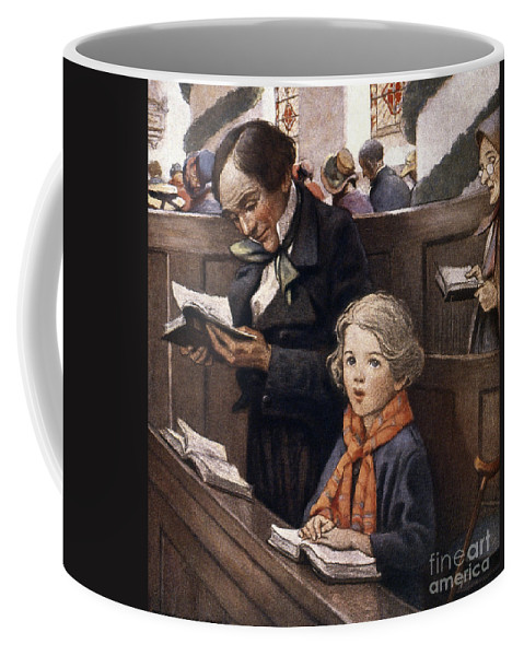Aod Coffee Mug featuring the painting A Christmas Carol by Granger