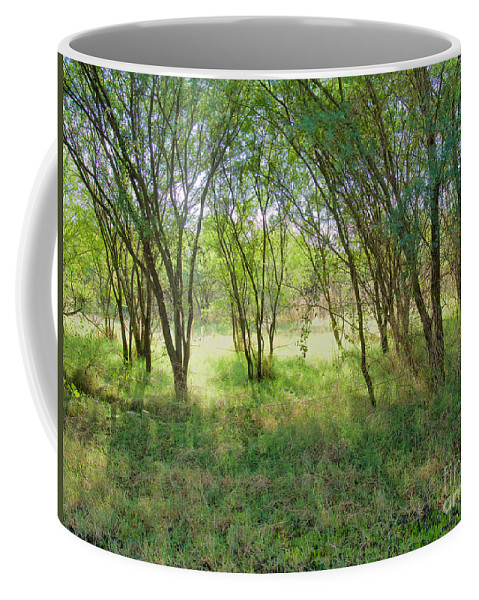 Country Coffee Mug featuring the photograph A Country Morning by Gary Richards