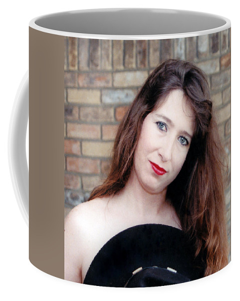 Cowboy Coffee Mug featuring the photograph A Cowboys Hat by Cindy New