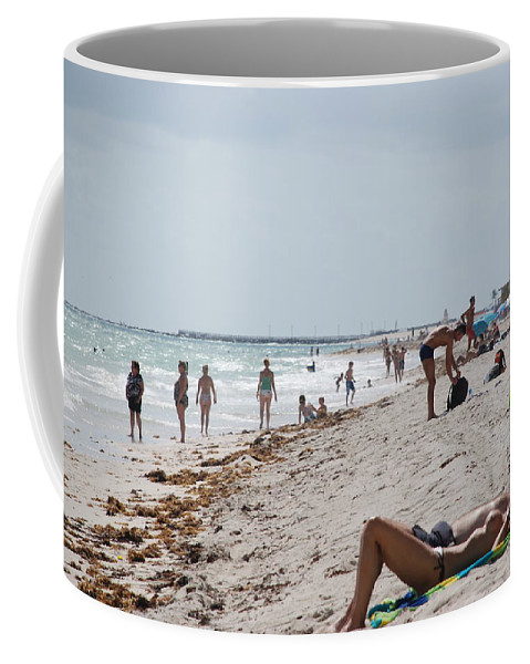 Nude Coffee Mug featuring the photograph A Day At Paradise Beach by Rob Hans