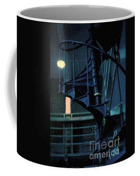 Dark Coffee Mug featuring the photograph A Different View by Vicki Lynn Sodora