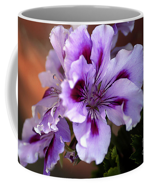 Clay Coffee Mug featuring the photograph A Floral For Jalapeno by Clayton Bruster
