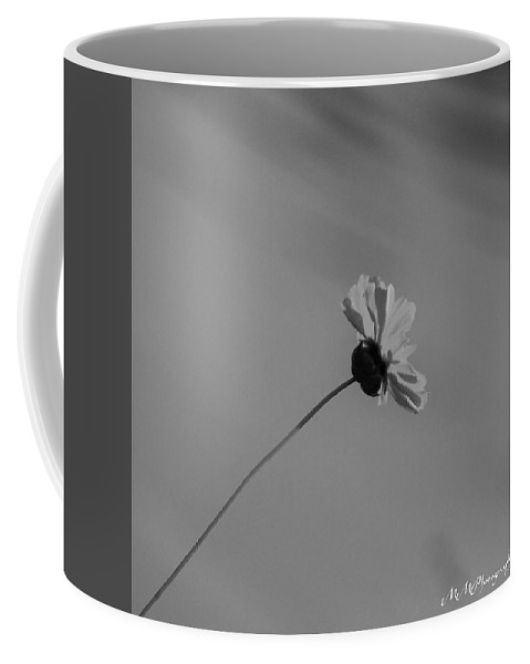 Flower Coffee Mug featuring the photograph Leaning Flower by Mickey Marino