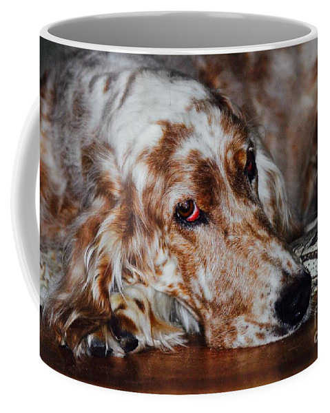 Coffee Mug featuring the photograph A Girl's Best Friend by Andrea Spritzer