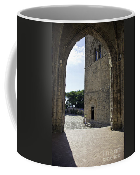 Arch Coffee Mug featuring the photograph A Gothic View II by Madeline Ellis