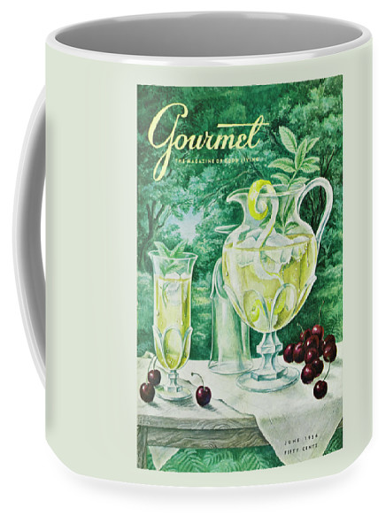 Food Coffee Mug featuring the photograph A Gourmet Cover Of Glassware by Hilary Knight