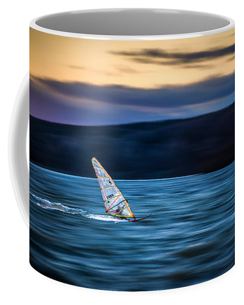 Ammersee Coffee Mug featuring the photograph A Great Way To End The Day by Hannes Cmarits