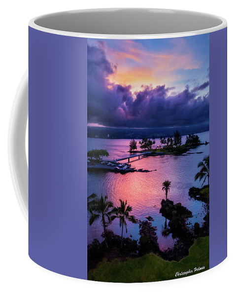 Hawaii Coffee Mug featuring the photograph A Hilo View by Christopher Holmes