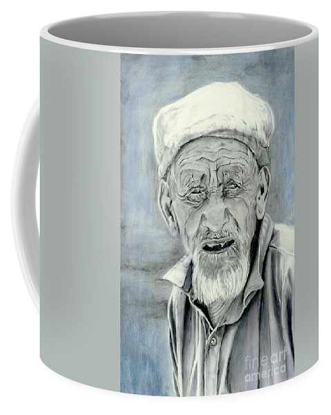 Figurative Art Coffee Mug featuring the painting A Life Time by Portraits By NC