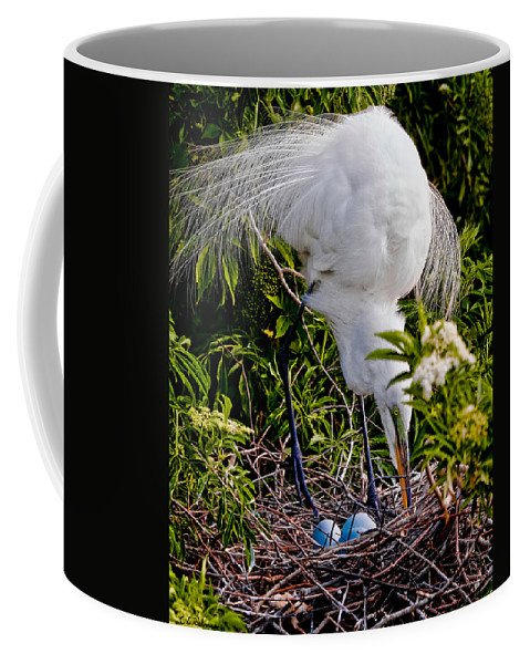 Art Coffee Mug featuring the photograph A Little Housekeeping by Christopher Holmes