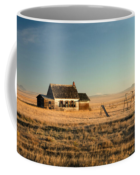 Abandoned Coffee Mug featuring the photograph A Long, Long Time Ago by Todd Klassy