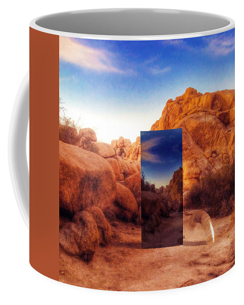 Surrealism Coffee Mug featuring the photograph A Matter Of Respect by Snake Jagger
