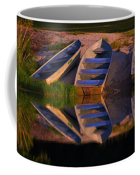 Blythe Island Coffee Mug featuring the photograph A Moment's Rest by Laura Ragland
